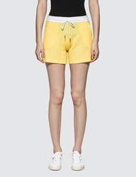 Thom Browne Shorts In Seersucker