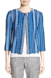 St. John Women's Collection Damik Fil Coupe Knit Jacket