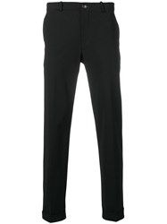 Rrd Slim Fit Tailored Trousers Black