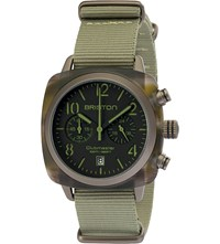 Briston 16140.Pkam.Tj.19.Nj Clubmaster Classic Jungle Chronograph Watch