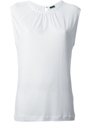 Joseph Sleeveless Tank White