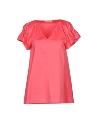 Carla G. Blouses Coral