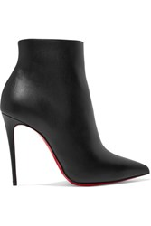 Christian Louboutin So Kate 110 Leather Ankle Boots Black