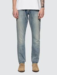 Saint Laurent Straight Cut Jeans Blue