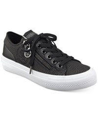 Guess Women's Gemica Lace Up Sneakers Women's Shoes Black