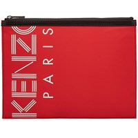 Kenzo Paris Pouch Red