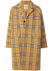 Coohem Country Tartan Tweed Coat 60