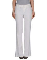 Strenesse Blue Casual Pants Ivory