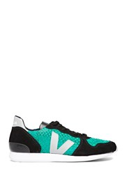 Veja Holiday Low Top Tilapia Leather Sneakers Green