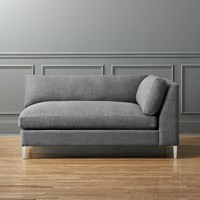 Cb2 Decker Left Arm Chaise