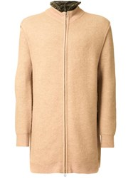 3.1 Phillip Lim Long Zipped Cardigan Brown