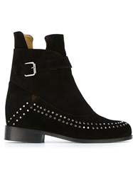 Thakoon Addition Studded Ankle Boots Black