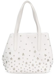 Jimmy Choo Sofia Tote White
