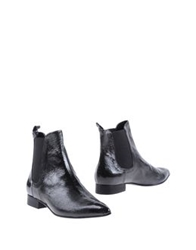 Luca Valentini Ankle Boots Dark Green