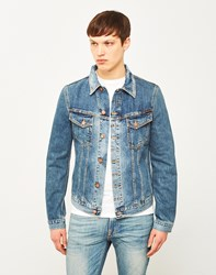 Nudie Jeans Co Billy Denim Jacket Crunch Blue