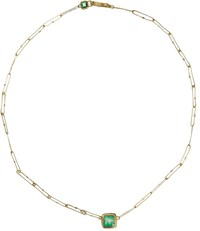 Judy Geib Emerald Echo Necklace Colorless