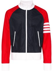 Thom Browne Striped Sleeve Track Jacket 60