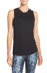Alo Yoga Women's Alo 'Heat Wave' Ribbed Muscle Tank Black