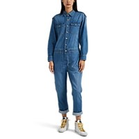 Current Elliott The Crew Coverall Jumpsuit Blue