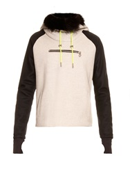 Aurelie Demel Yegg Fur Lined Hooded Sweatshirt