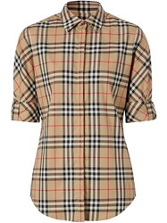 Burberry Vintage Check Shirt Brown