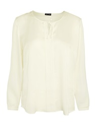 Gerry Weber Draped Blouse Off White