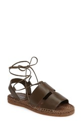 Treasure And Bond Women's Bradd Sandal Olive Leather
