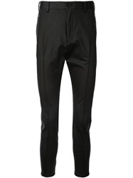 Loveless Slim Fit Trousers Black
