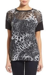 Women's Cj By Cookie Johnson 'Everlasting' Animal Print Top