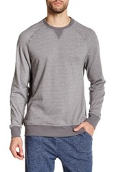 2Xist Crew Neck Pullover Sweater Gray