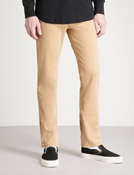 True Religion Relaxed Slim Fit Woven Trousers Beige