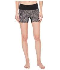 Pearl Izumi Escape Short Tights Print Smoked Phyllite Black Women's Casual Pants Smoked Pearl Phyllite Black