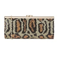 Lotus Spinale Matching Clutch Bag Leopard Print