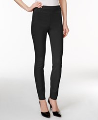 Styleandco. Style And Co. Tummy Control Stretch Leggings Deep Black