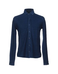 Altea Dal 1973 Shirts Slate Blue