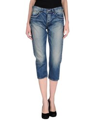 Johnbull Denim Denim Capris Women