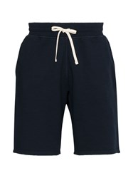 Reigning Champ Knee Length Track Shorts Blue