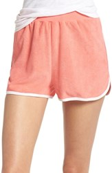 Make Model Baby Terry Lounge Shorts Coral Sugar
