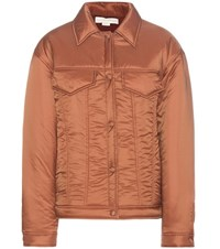 Stella Mccartney Padded Jacket Brown