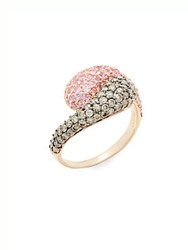 Effy Diamond Pink Sapphire And 14K Rose Gold Ring