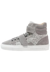 Android Homme Propulsion Hightop Trainers Gray Cozy Grey