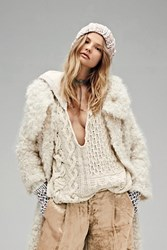 Free People Womens Over The Moon Hoodie