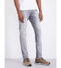 Replay Anbass Slim Fit Tapered Jeans Grey Melange