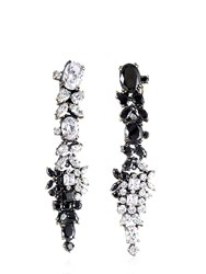 Iosselliani Optical Memento Swarovski Earrings