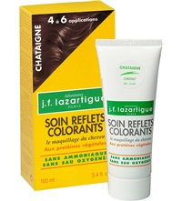 J.F.Lazartigue Colour Reflecting Conditioner Chestnut 100Ml
