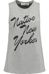 Etre Cecile Native New Yorker Oversized Printed Cotton Jersey Tank