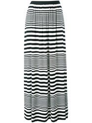 I'm Isola Marras Striped Maxi Skirt Black