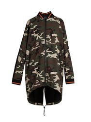 The Upside Camouflage Print Drawstring Jacket