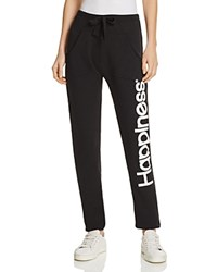Happiness Sweatpants Black
