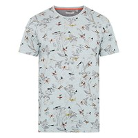 Ted Baker Dragonfly Printed T Shirt Light Blue